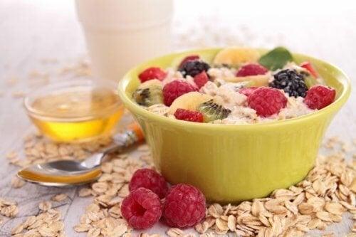 Hyperthyroïdie : flocons d'avoine au petit déjeuner