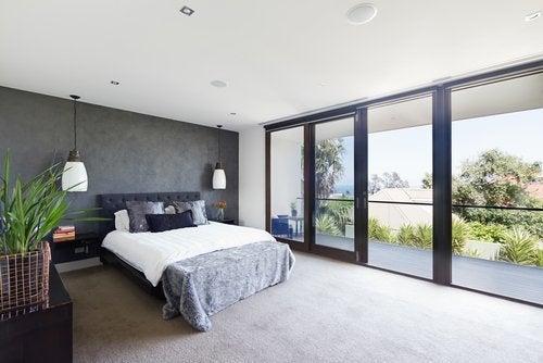 Essayez d'avoir une chambre plutôt minimaliste.