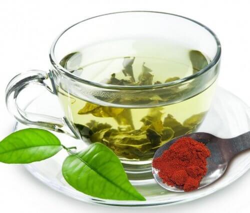 Les effets du thé vert.