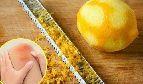 Comment utiliser l'écorce du citron pour calmer les douleurs articulaires