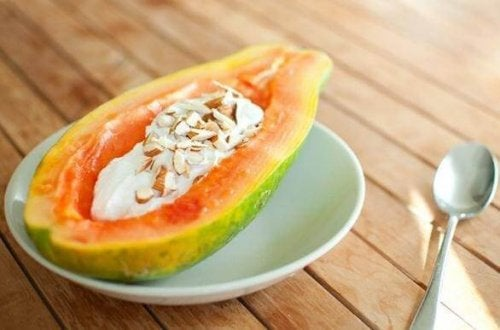 yaourt-avec-papaye