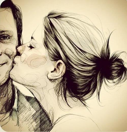 Je t'aime pour toujours.
