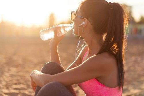 les remèdes naturels à base d'eau
