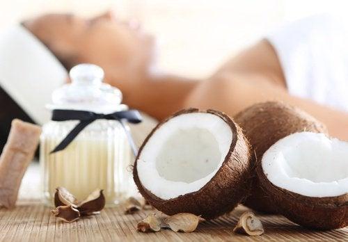 smoothie avec de la noix de coco