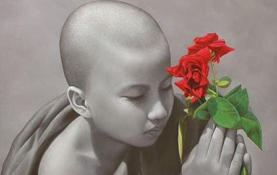 enfant-avec-fleur