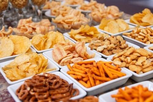 Les mauvaises habitudes alimentaires.