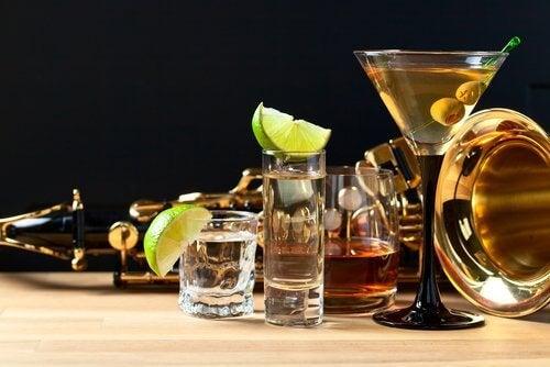 L'alcool et la vessie.