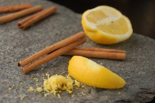 La cannelle et le citron
