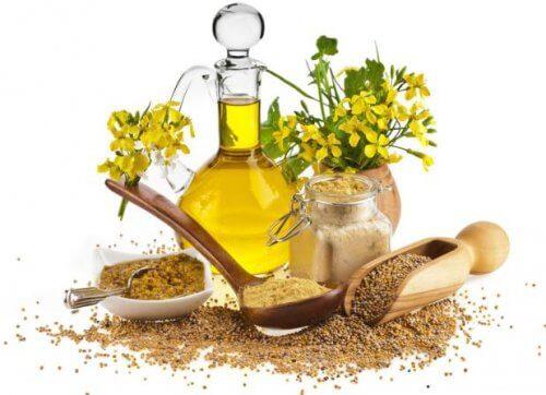 méthodes naturelles pour éliminer le cérumen : huile de moutarde