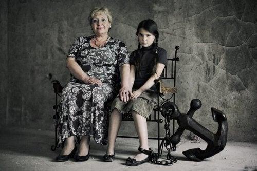 Parents toxiques et manipulation.