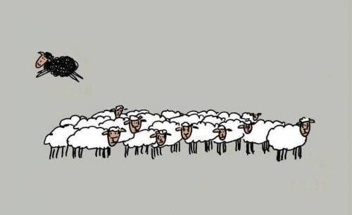Être le mouton noir peut être sain
