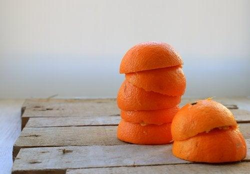 Peaux d'oranges
