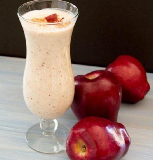 smoothie à la pomme