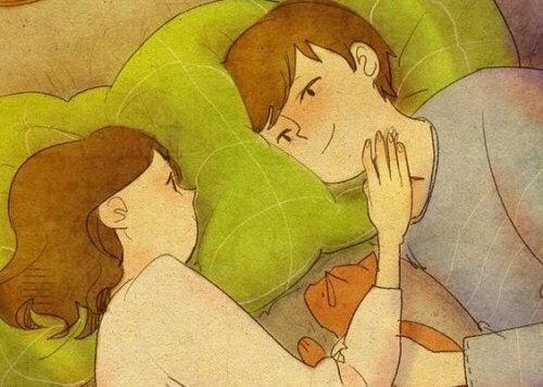Le premier amour s'accompagne d'autres prémices