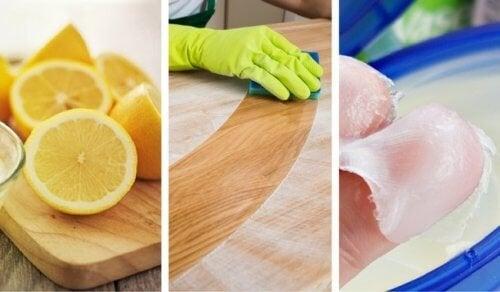 8 nettoyants faits maison pour traiter le bois