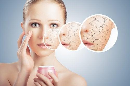 boire de l'eau pour la peau sèche
