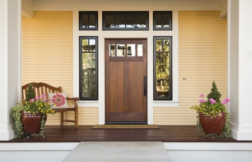 la porte d'entrée et le feng shui