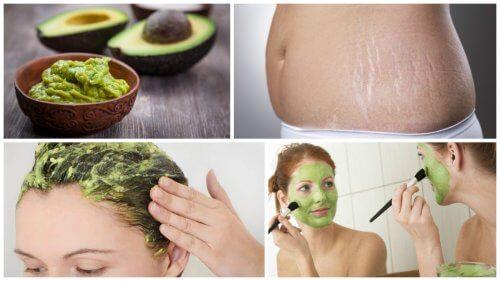 6 utilisations cosmétiques de l'avocat