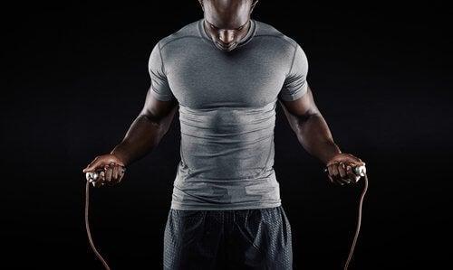Le saut à la corde améliore la circulation sanguine.