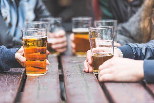 Un des bienfaits de la bière: sa haute teneur en eau