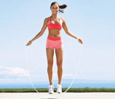 Le saut à la corde élimine les toxines.