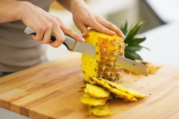 ananas pour boucler les cheveux