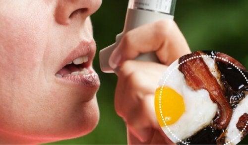 Asthme : les bons et les mauvais aliments