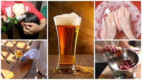 Découvrez les 9 utilisations alternatives de la bière dans votre maison