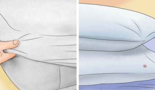 Découvrez comment blanchir oreiller et matelas