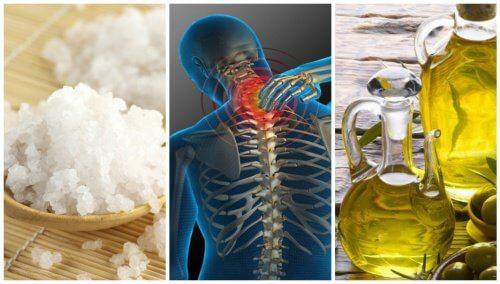 Douleurs articulaires : un merveilleux traitement à base de sel et d'huile