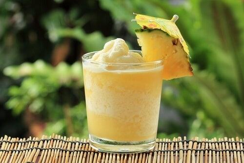 L'ananas contre la digestion lente.