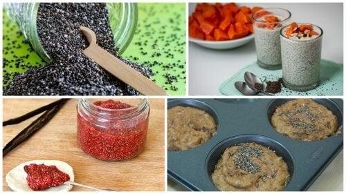 5 délicieuses façons de profiter des graines de chia