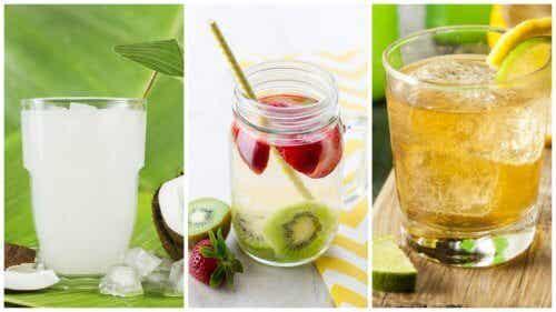 5 eaux purifiantes pour nettoyer le corps et perdre du poids
