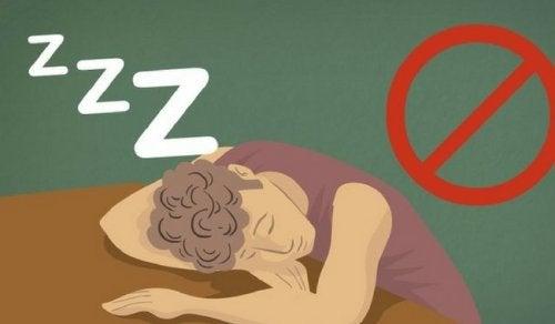 7 conséquences du manque de sommeil