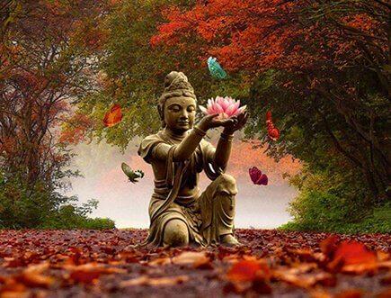 Méditer tout en marchant, une pratique ancestrale
