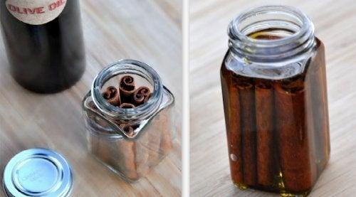 Les bienfaits de l'huile thérapeutique à la cannelle
