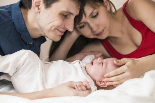 Le vagin est sensible après l'accouchement.