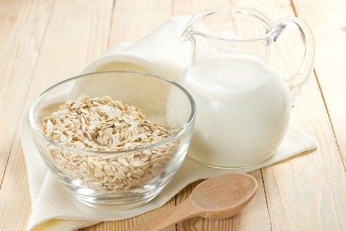 Les laits végétaux d'avoine