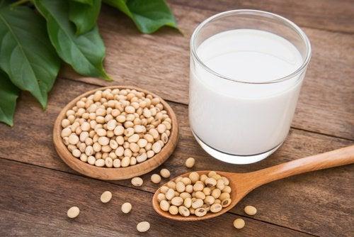 laits végétaux de soja