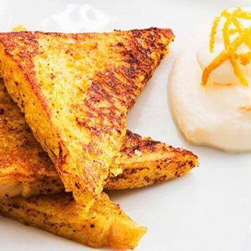 5 idées pour un petit-déjeuner sain riche en protéines ; pain perdu