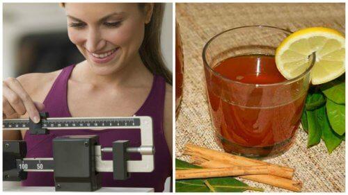 Préparer un thé à la cannelle et au laurier pour perdre du poids