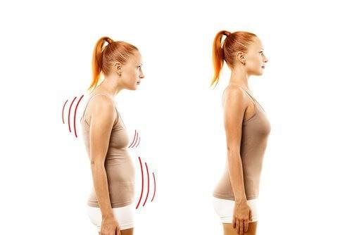 améliorer sa posture pour une poitrine plus ferme