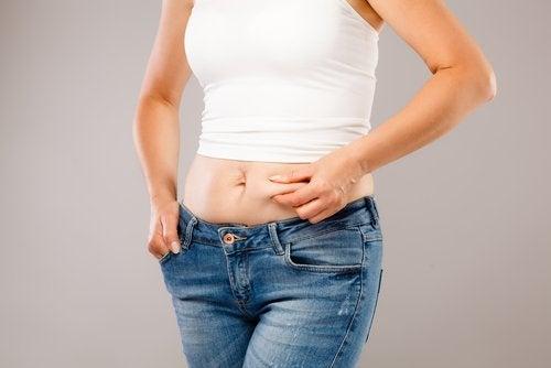 Dérèglement hormonal et prise de poids.