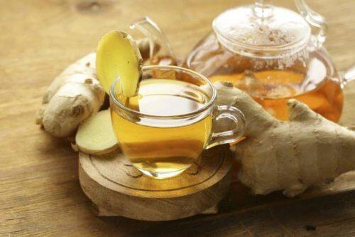 Le gingembre contre les maux d'estomac.