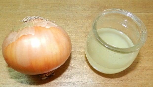 Le sirop avec l'oignon pour soulager la toux.