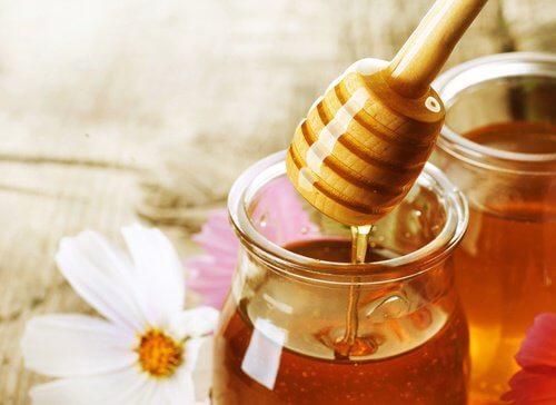 Le miel pour la vision.
