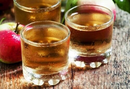 aliments pour prévenir les infections bactériennes : vinaigre de pomme