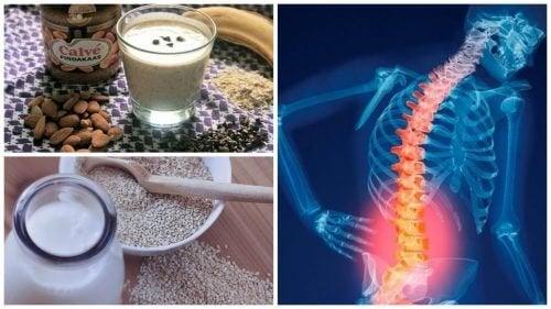 Les 6 meilleurs remèdes naturels contre l'ostéoporose