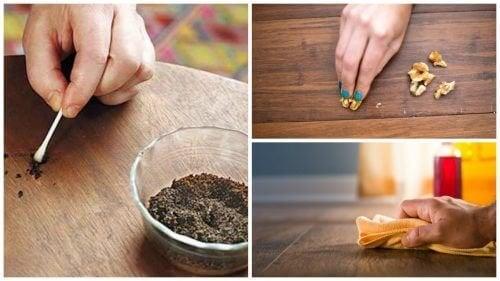 8 astuces pour réparer les éraflures des meubles en bois