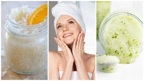 Apprenez à exfolier votre peau naturellement avec 5 traitements maison